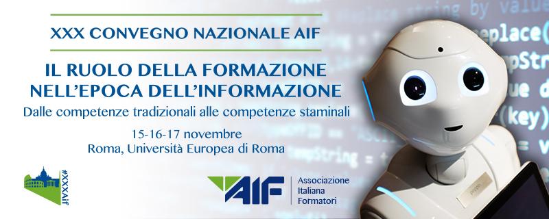 XXX Convegno nazionale AIF